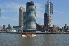 Hotel New York en cruise terminal Rotterdam