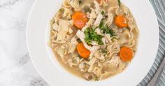 Pressure Cooker Chicken Noodle Soup Recipe (Instant Pot Chicken Noodle Soup)