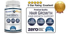Research Verified Hair Growth Review - I've been told you should try this product...let me know if it works