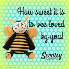 "Meet our new Scentsy Buddy ""Bumble the Bee"" wholovesessence.scentsy.us"