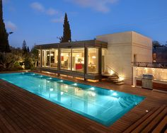Exclusive Materials for Pool Deck Design Ideas Sparkling Lights For Modern Home…