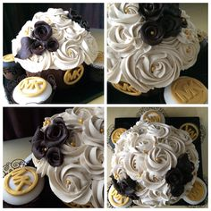 Michael kors themed cupcakes