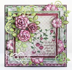 Heartfelt Creations   Wonderful Fuchsia Blooms