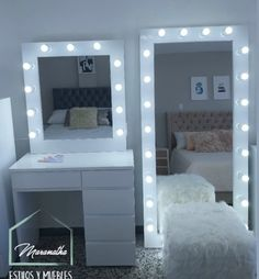 Room Design Bedroom, Room Ideas Bedroom, Small Room Bedroom, Cute Bedroom Decor, Dressing Room Decor, Beauty Room Decor, Stylish Bedroom, Dream Rooms, Luxurious Bedrooms