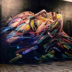 Beauty Face Colorful #AmoraCriativa #StreetArt #urbanart #creative #criativos #criatividade