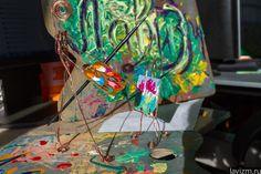 2014 LAVIZM http://lavizm.ru/ Art installation «The Lavizm-Man» by Konstantin Loris-Melikov & Ekaterina Lebedeva