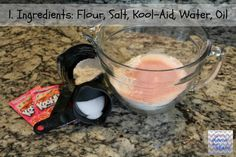 Homemade Play Doh Ingredients