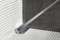 Home Improvement Ideas Floor Design, Tile Design, House Design, Tile Edge, Joinery Details, Appartement Design, Tile Trim, Baseboards, Building Materials