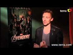 This is how a reporter asks Hiddles if he wears boxers or briefs.