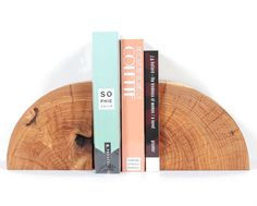 Solid Maple Bookends by Marvin Freitas $225