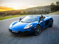 mclaren mp4-12c blue - Google Search