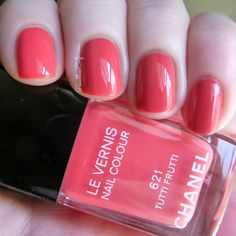 Chanel Reflets D'ete Collection Summer 2014: Swatches and Review | Pointless Cafe TUTTI FRUTTI