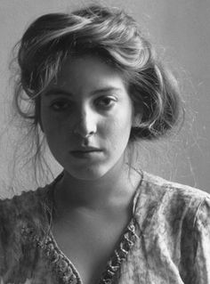 Francesca Woodman self portrait. Brilliant photographer, she passed away way too soon. She was way before the times artistically.