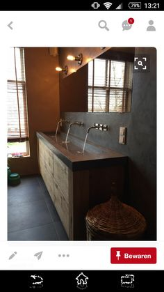 73 best Badkamer images on Pinterest   Bathroom, Bathroom ideas and ...