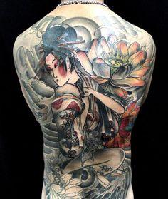 5 geisha tattoo on back600_710