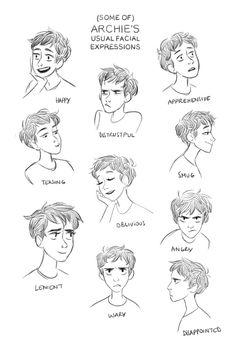 Curly hair anime male