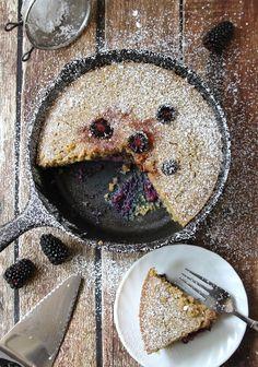 Skillet Blackberry Cake