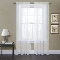 Duke Garden Window Curtain (Pair)