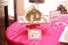 Decorations at a Candyland Birthday #candyland #birthdaydecor