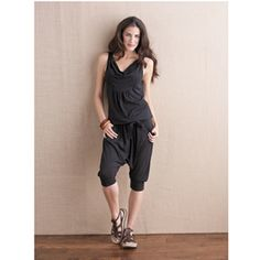 Pack Light and Pack Smart: Throw a multipurpose jumpsuit in your duffle that can double as your yoga threads or afternoon lounging attire.  We like Gaiam Harem Jumpsuit, $84; gaiam.com. #lazygirl #longweekend