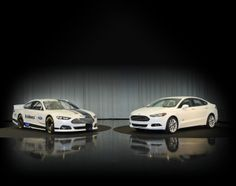 2013 Ford Fusion and NASCAR Fusion