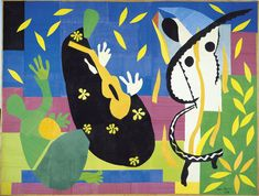 Matisse The Sorrows Of The King oil painting reproduction on canvas