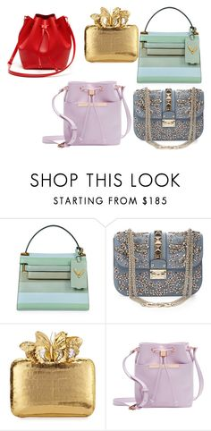 """""""bags"""" by piksaevama on Polyvore featuring Valentino, Nancy Gonzalez, Ted Baker и Lacoste"""