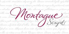 Montague Script - Webfont & Desktop font « MyFonts