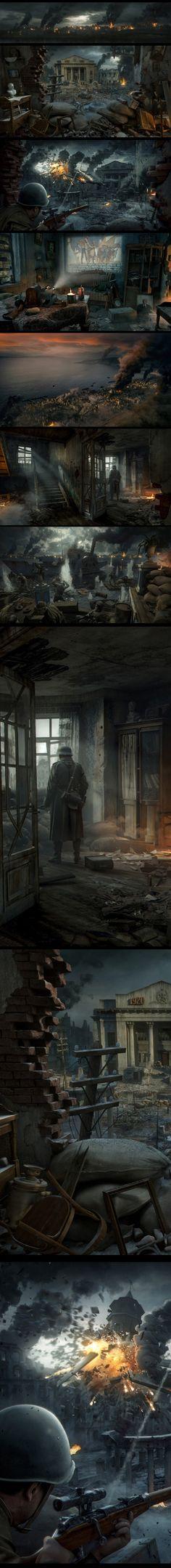 Stalingrad on Digital Art Served