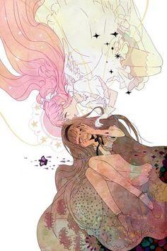 Madoka and Homura - Mahou Shoujo Madoka Magica Fan Art (37938123) - Fanpop