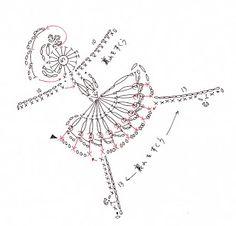 Patrones de ganchillo Gente Applique: Crochetpedia