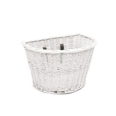 Electra Cruiser Wicker Front Basket White