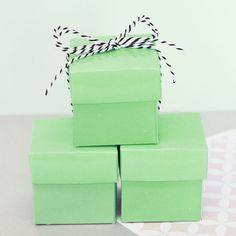 Mint Green Wedding Favors  Mint Green Baby Shower by ModParty