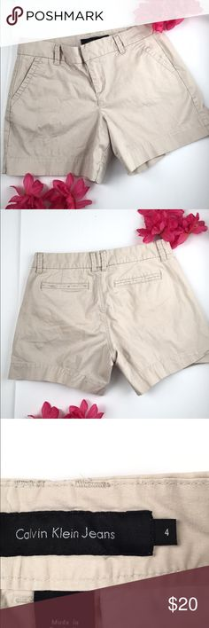 Super Cute Calvin Klein Shorts - Size 4 Super Cute Calvin Klein Shorts - Size 4  In great condition! Great for spring! 🌸🌸🌸 Calvin Klein Shorts