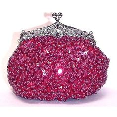 Awesome Pink Evening Bag.
