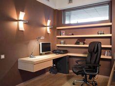 Minimalist small home office design