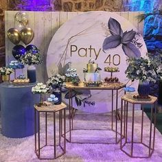 Wedding Stage Decorations, Balloon Decorations, Birthday Party Decorations, Table Decorations, Party Central, Wedding Art, Mom Birthday, Birthday Balloons, Unicorn Party
