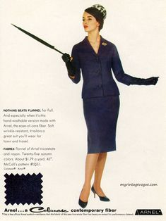 McCall's Pattern #5551 - Celanese 1960