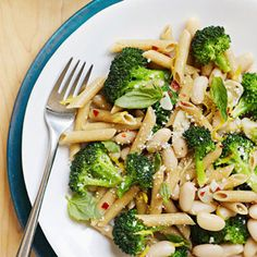 Lemony Penne and Broccoli