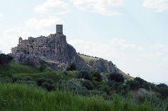 Craco, abandoned Italian hill town dating from at least the 12th century