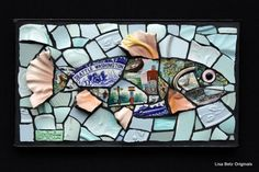 Love this fish by Lisa Betz - Mosaic Gallery -