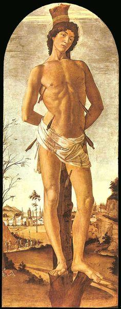 Saint Sebastian, Botticelli