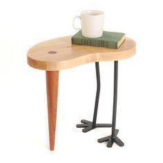 Hocker & Beistelltisch Tibu - nordisches Design