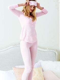 The Fireside Long Jane Pajama Victoria Secret Pajamas All Day, Cute Pajamas, Victoria Secrets, Pijamas Women, Christian Dior, Victoria Secret Pajamas, Night Suit, Sexy Bra, Girly Girl