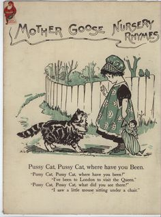 From Mother Goose Nursery Rhymes Illus A L Bowlly