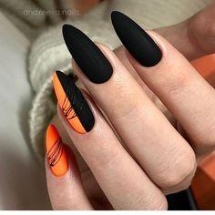 Classy Gel Nails, Trendy Nails, Subtle Nail Art, Clear Acrylic Nails, Fall Nail Art Designs, Autumn Nails, Some Ideas, Nail Artist, Beauty Nails