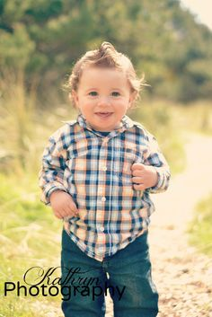 One year old little boy. Such a doll.
