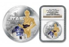 2011 Star Wars Silver Proof-Like Coin R2 D2, World Coins, Star Wars, Money, Stars, Paper, Silver, Gold, Sterne