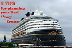 Disney Wonder Cruise Ship at Castaway Cay Title