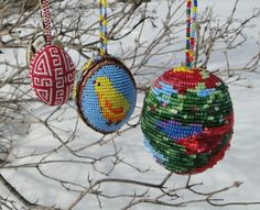 Beaded Easter Eggs from Lviv, West Ukraine  #Ukrainian #Ukraine #Easter